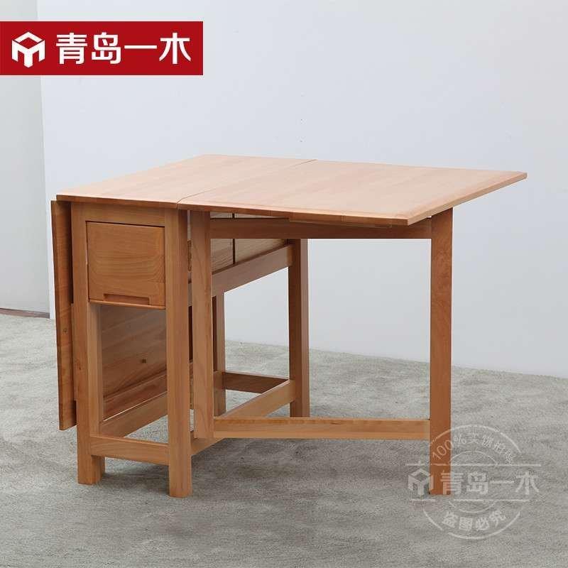 青岛一木家具 纯实木餐桌