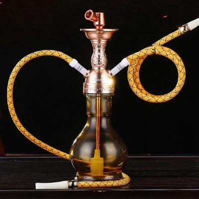 ZOBO正牌水煙壺雙軟管 阿拉 伯水煙壺過濾煙嘴 雙重過濾水煙斗 趣玩休閑禮品
