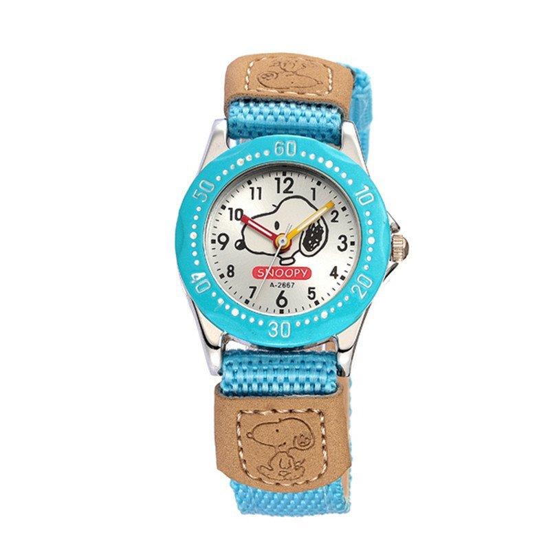 时空(skone)手表 可爱时尚布带卡通表 男孩学生手表 可爱女孩儿童表