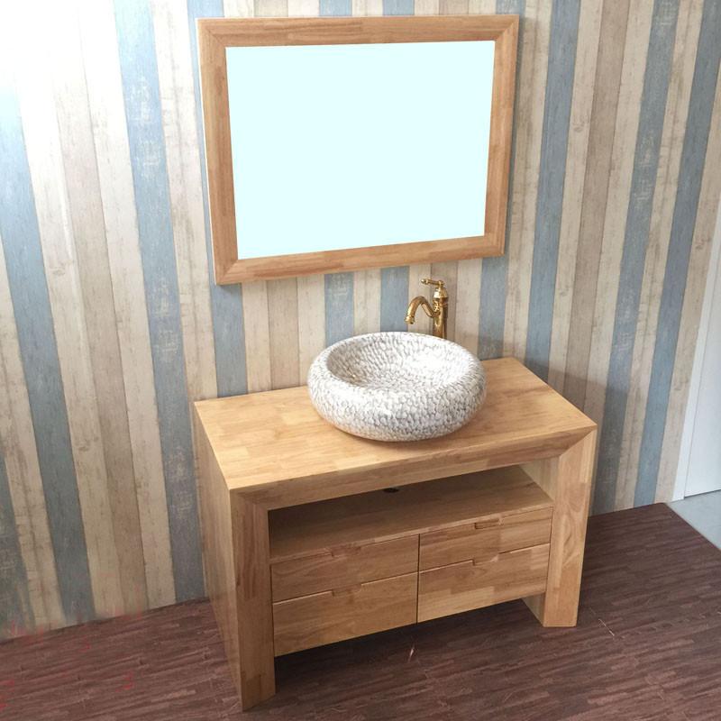 谛唯dvi 浴室柜组合 简约新中式卫浴洗手洗脸盆柜 组合套装镜台上盆洗