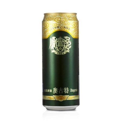 青岛啤酒 奥古特 经典大罐 老五星 纯生500ml大听罐装