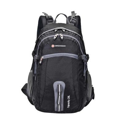 送防雨罩!2019新SWISSGEAR登山包男女通用 防水尼龙28l瑞士军刀登山包旅行包徒步包