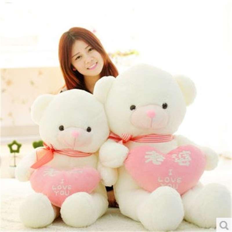 正品玩偶泰迪熊公仔布娃娃毛绒玩具熊超大号抱抱熊情人节生日礼物