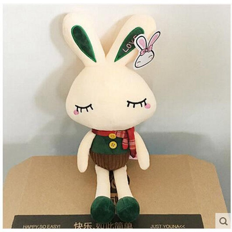 兔子公仔可爱布娃娃女孩毛绒玩具抱枕儿童女生男朋友睡觉婚庆礼品