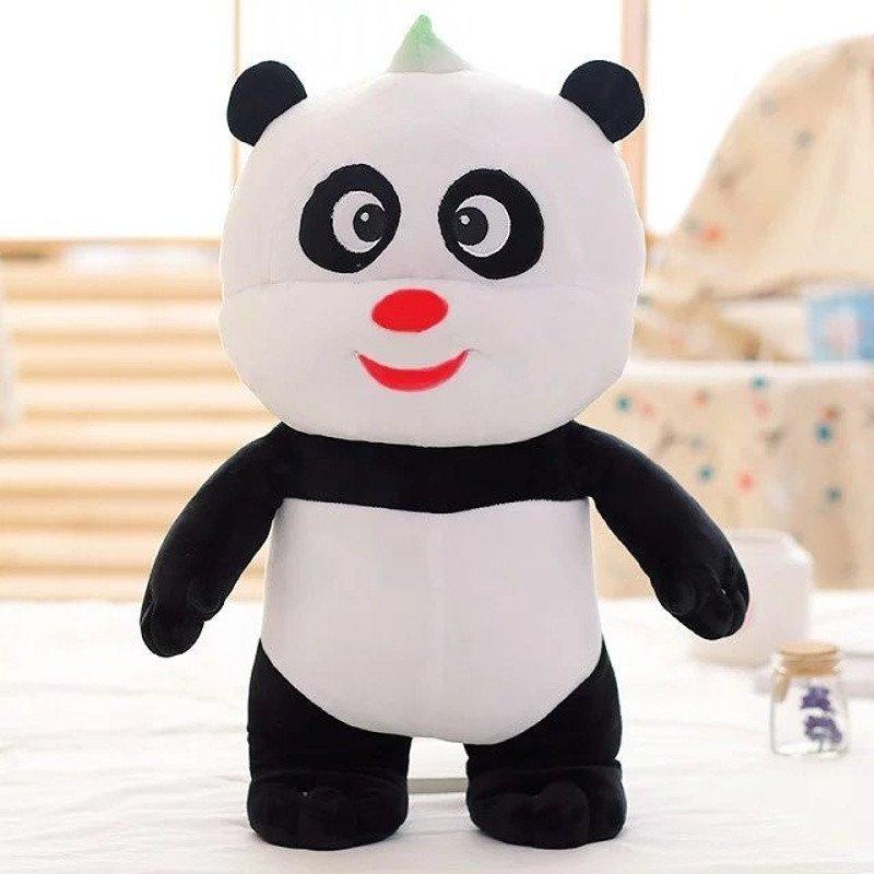 悦达 创意搞笑可爱熊猫老鼠公仔布娃娃玩偶毛绒玩具生日礼物女生