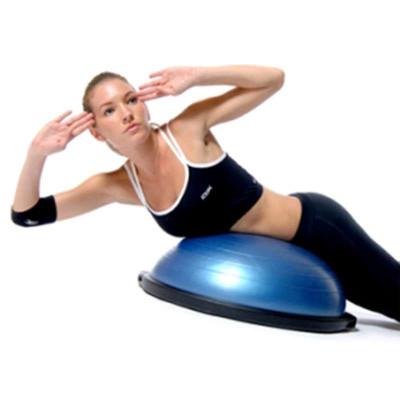 騏駿正品bosu ball 瑜伽健身球半圓球 平衡球 瑜伽球半球博速球波速球