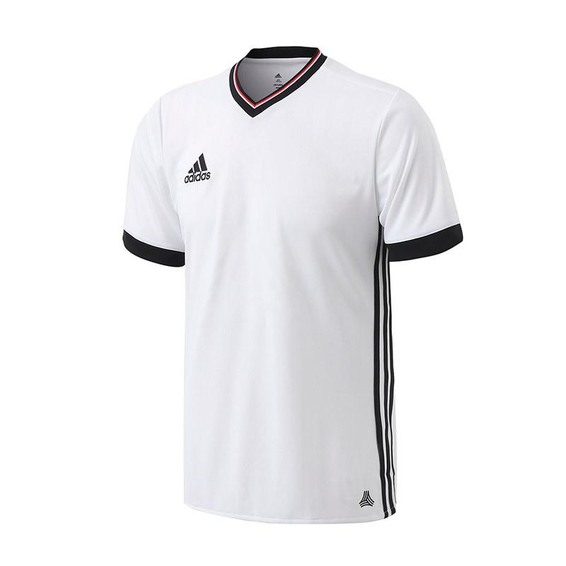 adidas阿迪达斯男装短袖t恤2017新款足球短袖比赛服足球运动服az9741