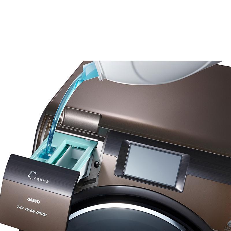 三洋滚筒洗衣机dgl8033atc