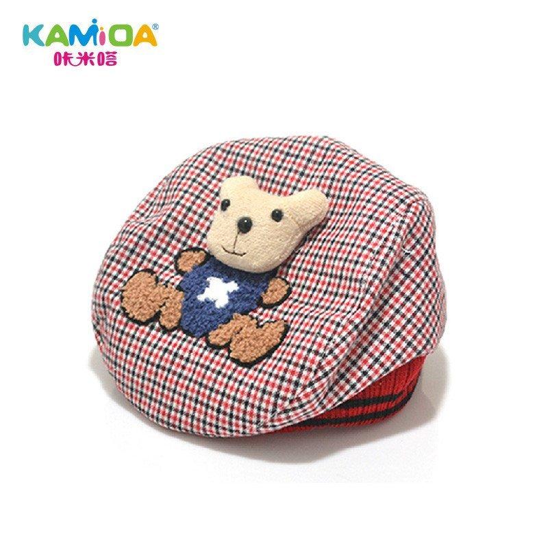 宝宝帽子婴儿鸭舌帽儿童贝雷帽韩版春夏季男女童帽儿