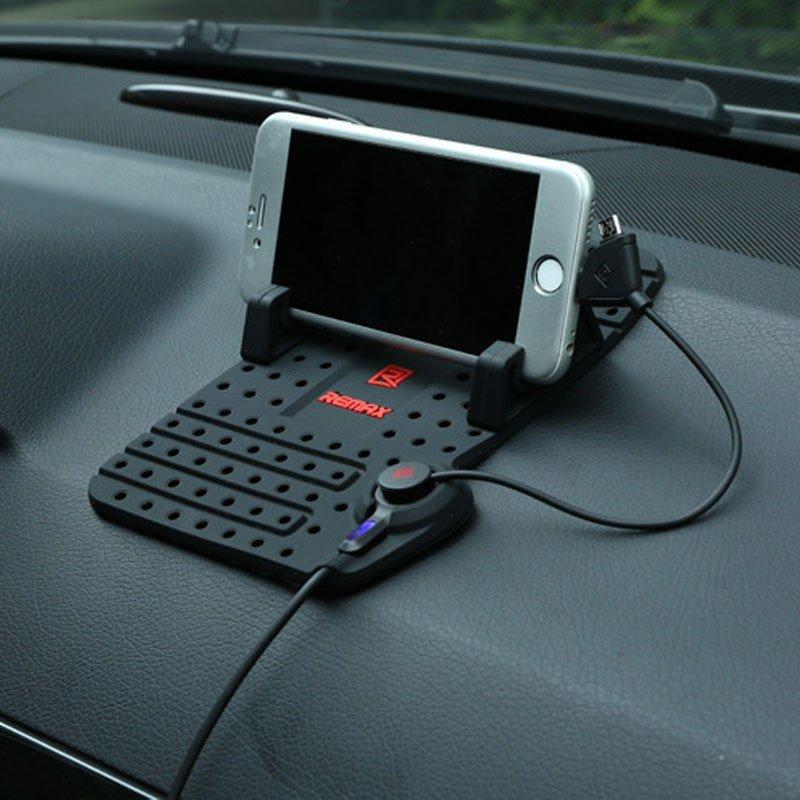 大有 车载手机支架 汽车手机架车用导航手机座 汽车用品 带充电功能