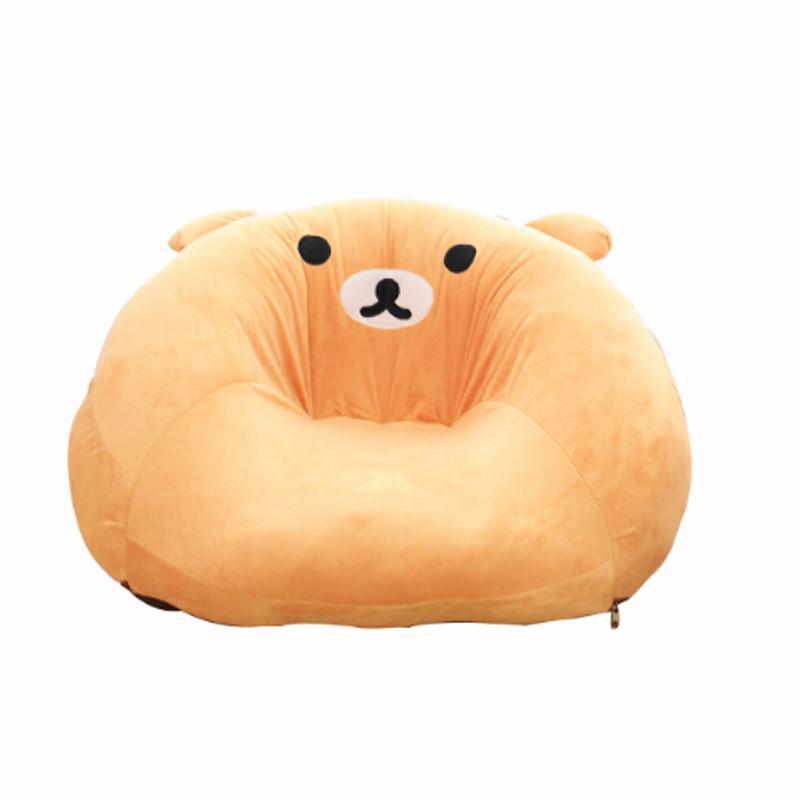 安吉宝贝可爱懒人沙发儿童沙发幼儿园摆件八件套 棕熊