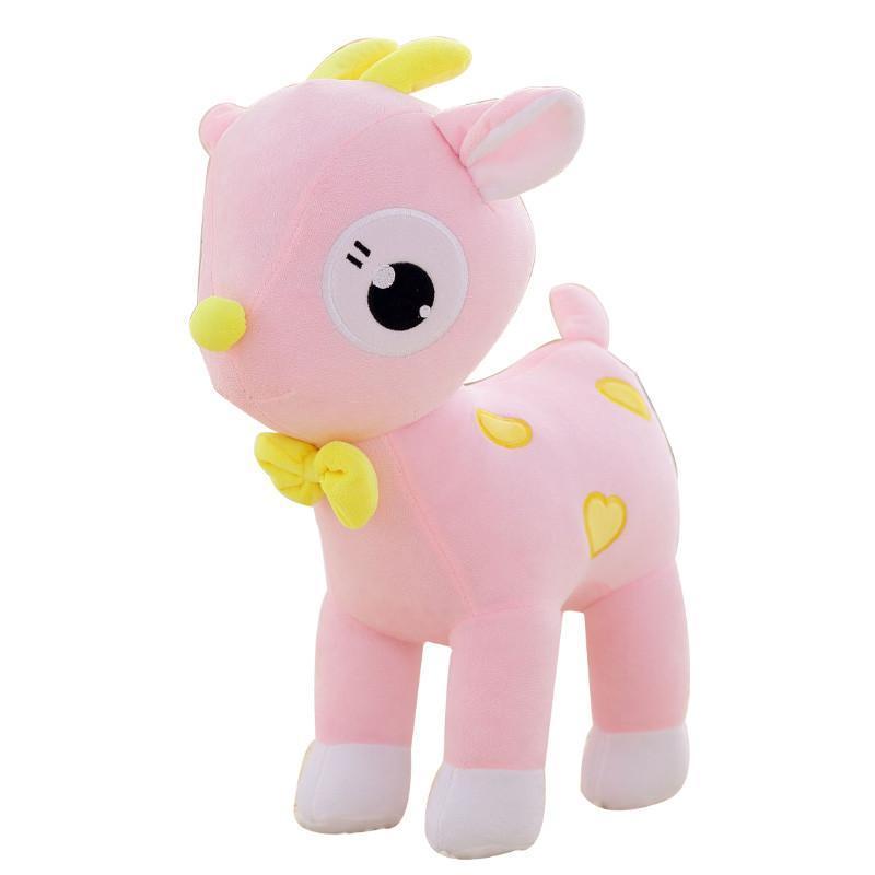 安吉宝贝可爱梅花鹿毛绒玩具公仔 情侣小鹿玩偶布娃娃