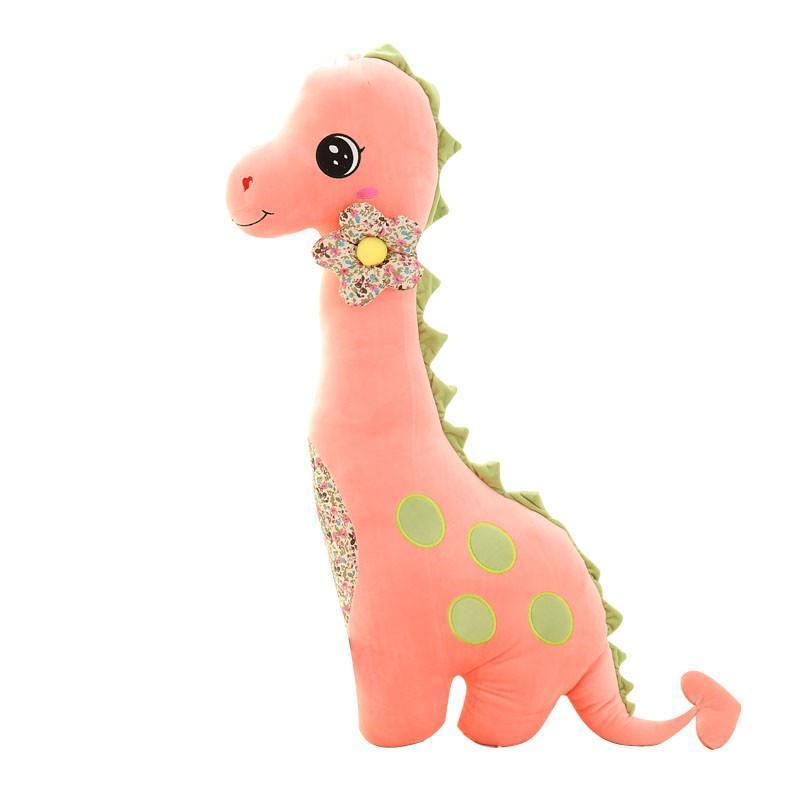 安吉宝贝可爱恐龙大号抱枕 卡通枕头毛绒玩具布娃娃玩偶 生日礼物女生