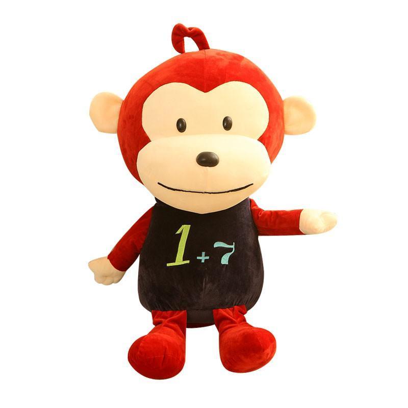 安吉宝贝可爱毛绒玩具猴子公仔 大嘴猴玩偶布娃娃 儿童节礼物生日礼物