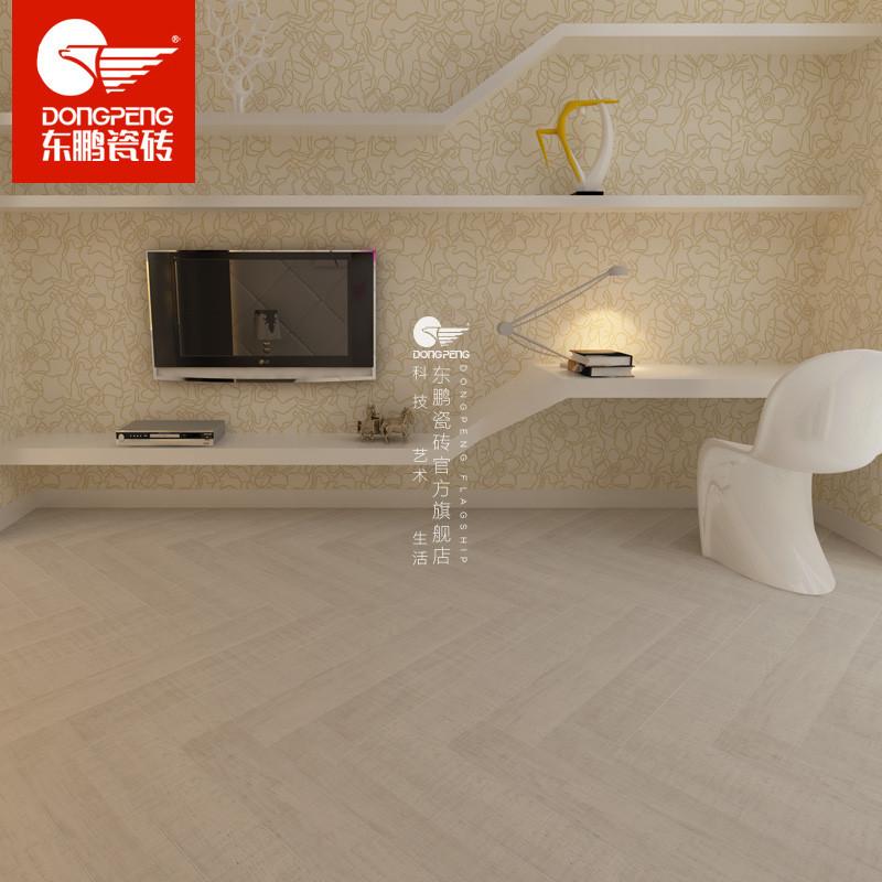 东鹏瓷砖 木纹仿古砖瓷砖 客厅卧室仿木瓷木地板砖 锯