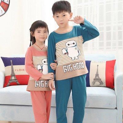 可爱时尚萌萌大白卡通儿童全家装