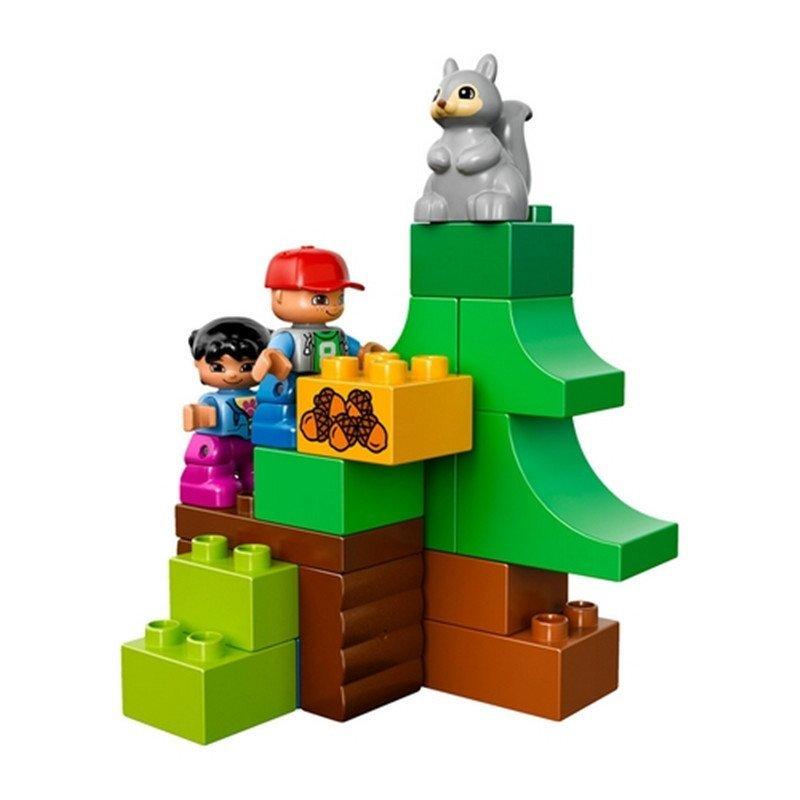 【中粮我买网】lego乐高得宝系列森林主题小动物们积木拼插儿童益智
