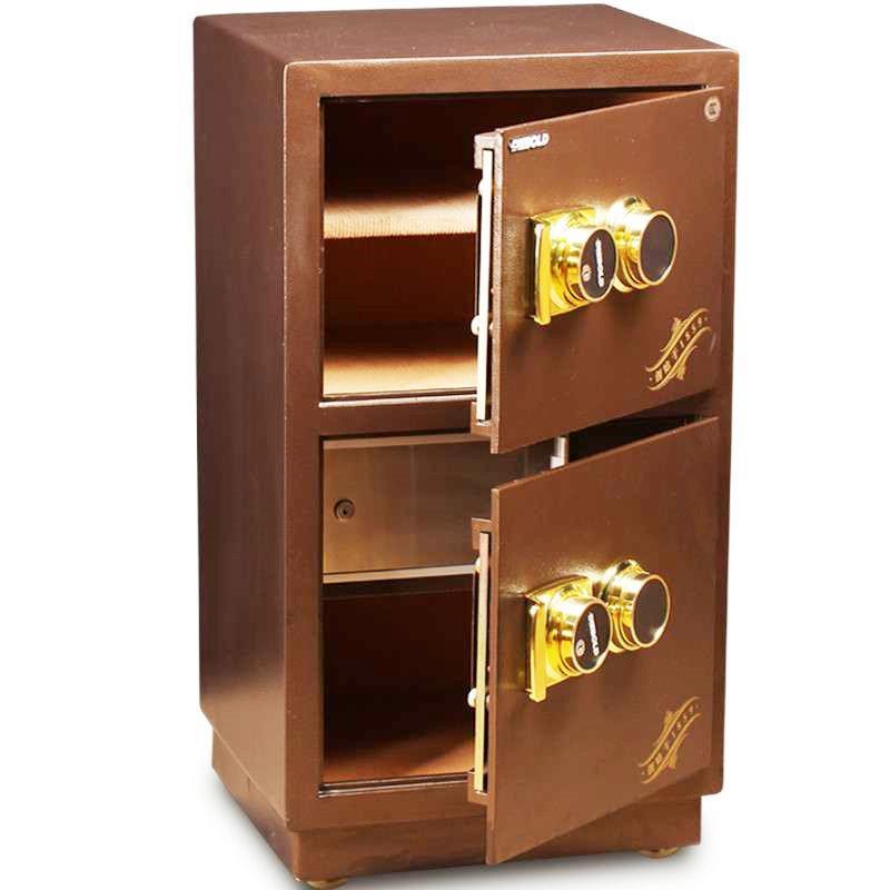 迪堡fdg-a1/j-80uls atm结构双门机械密码3c认证保险箱家用办公保险柜