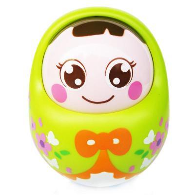 匯樂979 點頭不倒娃娃兒童益智帶聲不倒翁兒童玩具嬰兒玩具0-1歲