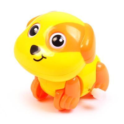 匯樂 趣味哈哈狗 發條玩具 嬰兒上鏈玩具