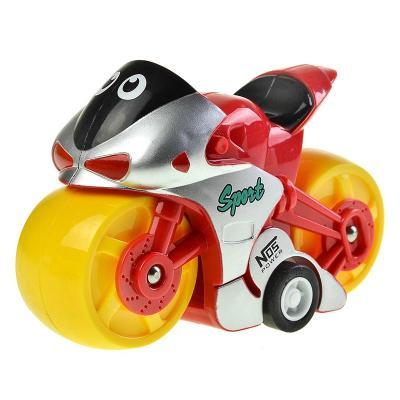 汇乐 极炫摩托车 婴儿发条玩具 惯性摩托车玩具