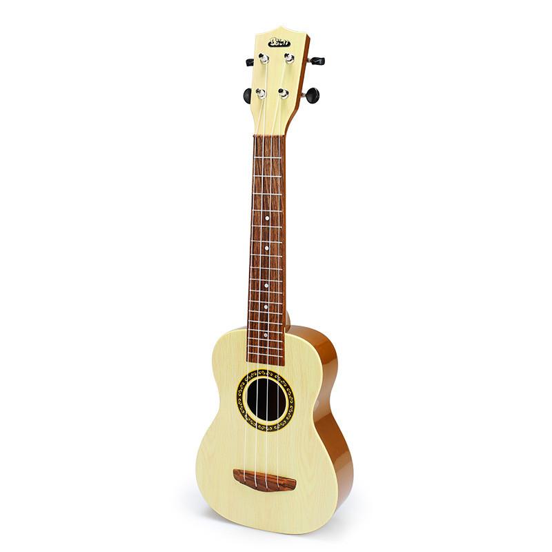 宝丽 儿童吉他玩具可弹奏大号尤克里里小乐器初学者1