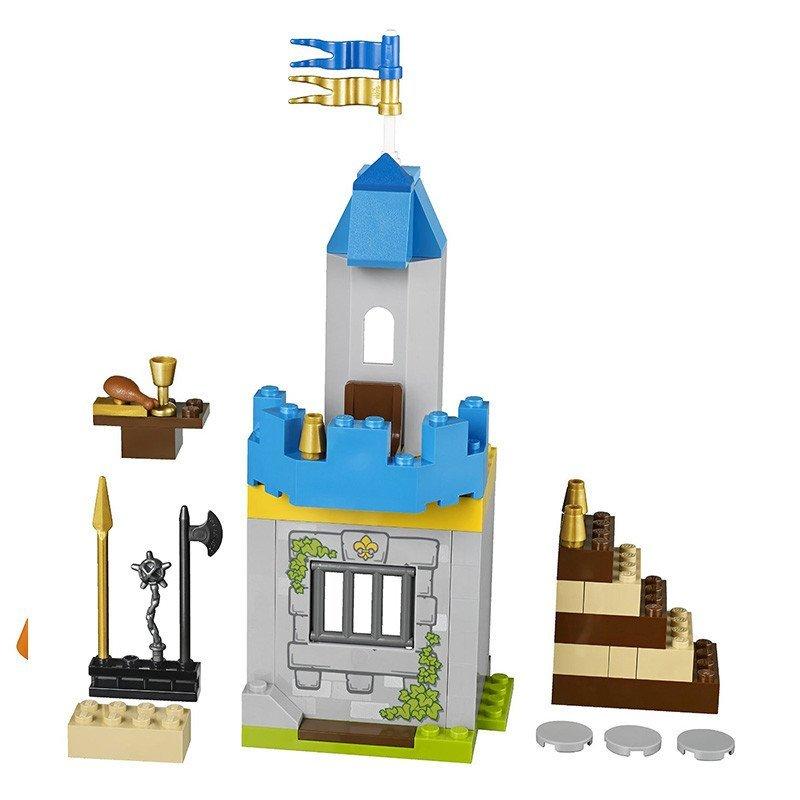 乐高正品益智拼装积木玩具 小拼砌师系列骑士城堡豪华