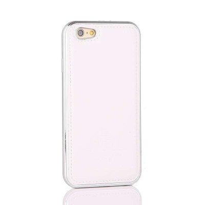 盈风iphone6/6s手机壳 苹果6plus/6splus皮套 金属边框 保护套真皮