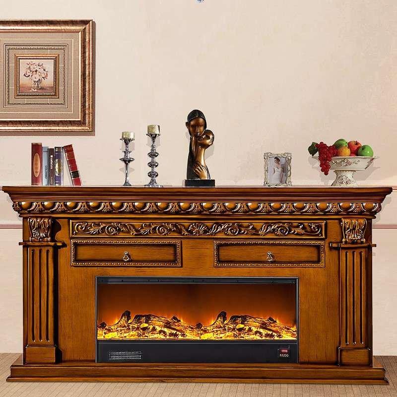 帝轩名典 2米欧式壁炉架 电视柜壁炉 装饰取暖壁炉架