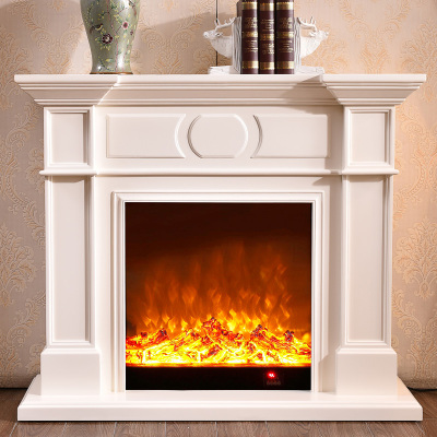 帝軒名典 1米/1.2米歐式壁爐 美式電壁爐 裝飾取暖電壁爐芯