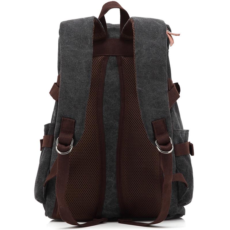 poso 帆布双肩包 韩版背包 旅行运动包 休闲包15.