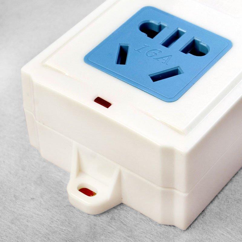 日本防脱�y�%�ak_长城风行a-809k无线可接线插座排插插线板16a空调专用