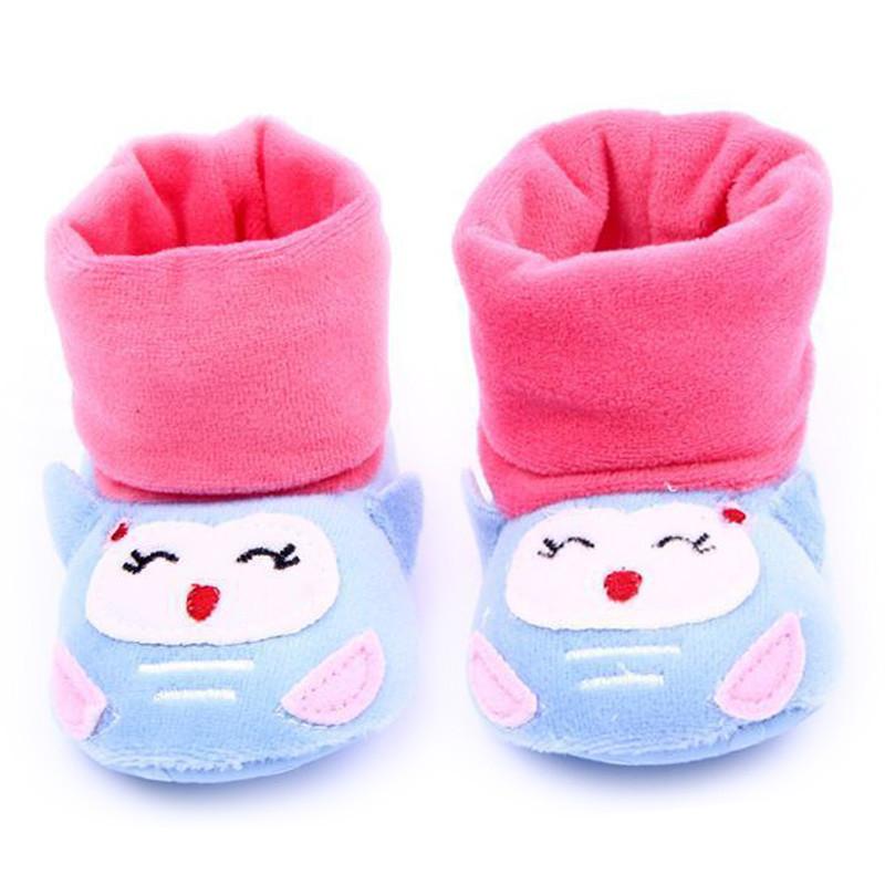 贝迪牛婴幼儿加高袜头鞋可爱小动物软底宝宝鞋脚套