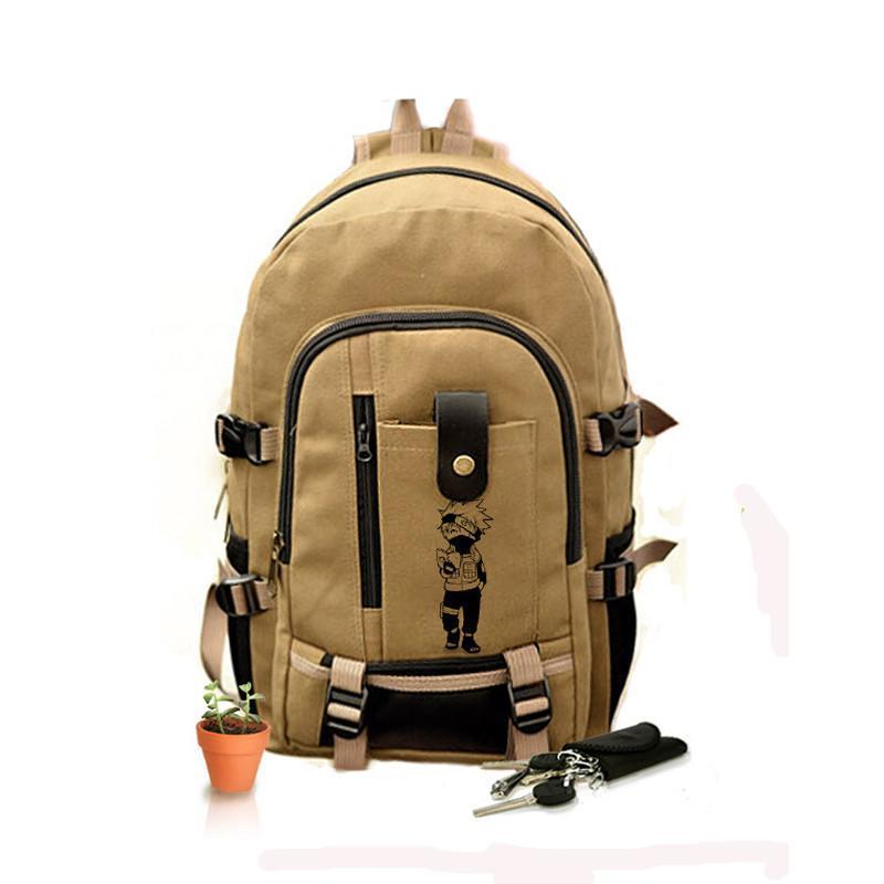 卡卡西中 火影忍者 书包 中学生 双肩背包 初中生 动漫周边图片