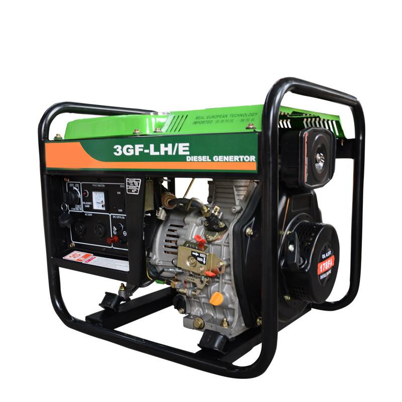 3kw柴油发电机组家用小型单相 220v电启动柴油发动机柴油发电机