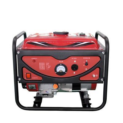 1kw家用汽油發電機 1000w迷你小型便攜式單相手啟動汽油發電機組
