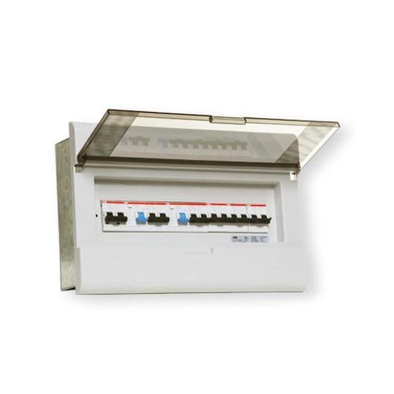 abb强电箱/配电箱/23回路暗装强电箱acp23-fnb-enu【塑料面空箱】