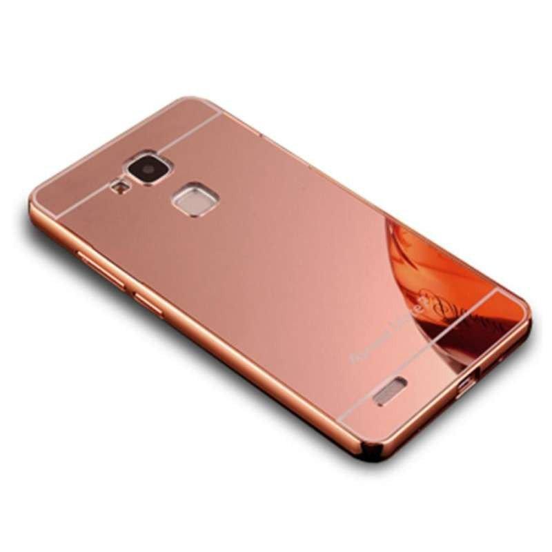 �9d�K����⿒��&7��G�_ebkad 华为麦芒4手机壳镜面金属边框后盖d199手机套g7