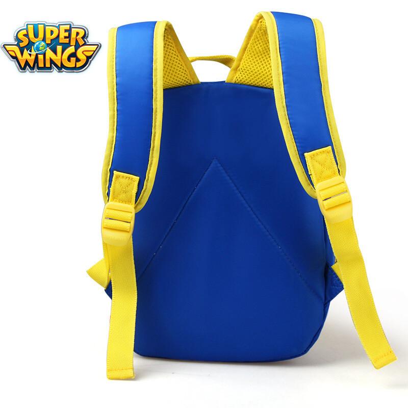 超级飞侠儿童背包乐迪幼儿背包休闲幼儿园书包男孩女孩 浅蓝色 bs0030
