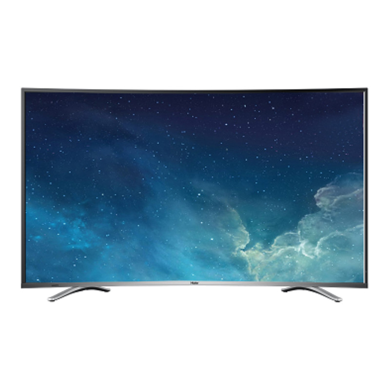 haier/海尔 le55u31 55英寸曲面高清智能网络液晶平板电视机三星屏图片