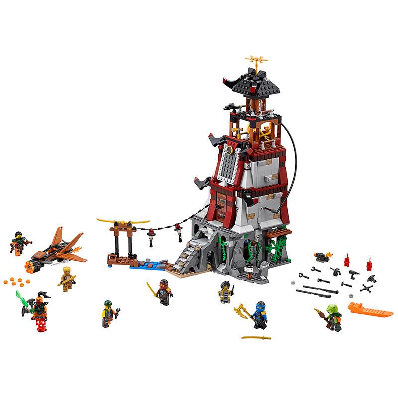 lego乐高ninjago幻影忍者系列忍者灯塔保卫战l70594