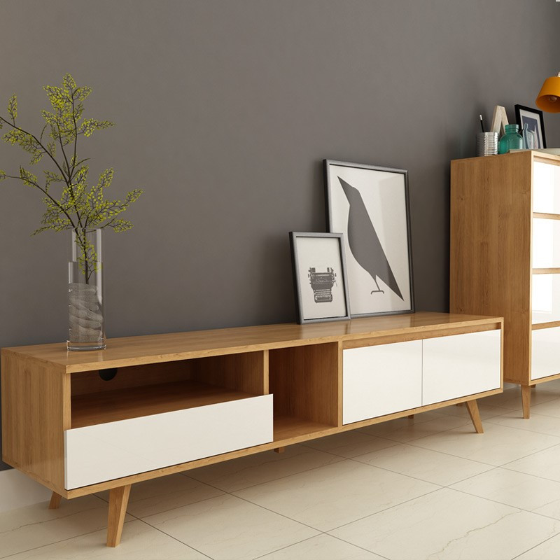 一米爱 现代简约电视柜北欧小户型电视柜 客厅家具 电视机柜创意l291