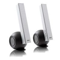 送耳机 漫步者E10 重低音时尚家居音响 2.2声道多媒体笔记本电脑音箱 蜗牛造型