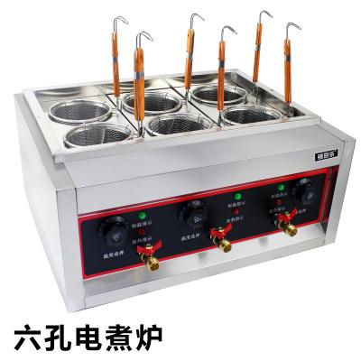 锦厨乐六缸煮面炉 商用煮麻辣烫机 关东煮 烫粉炉 电热煮面机