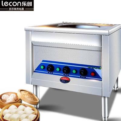 lecon樂創蒸爐商用不銹鋼包子機機械式電蒸包爐蒸小籠包爐12W功率饅頭機腸粉機燃氣蒸包機 電熱單孔
