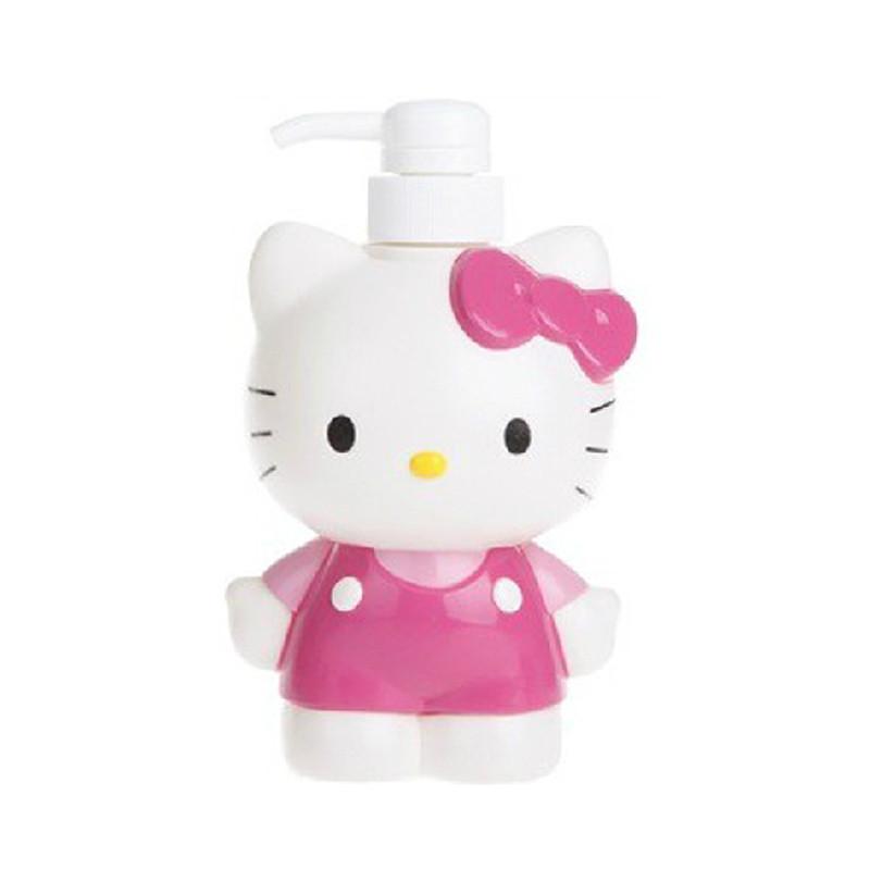 凯蒂猫 hellokitty 儿童浴液瓶 大小2个装 bssb3-5