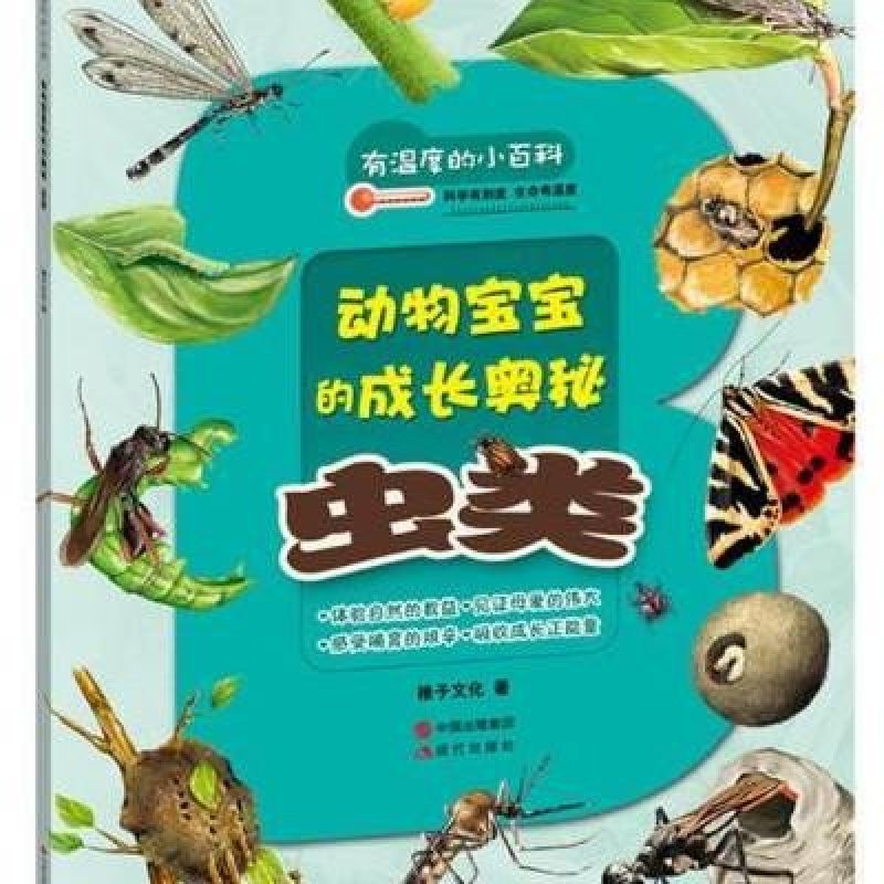 虫类-动物宝宝的成长奥秘-有温度的小百科