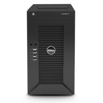 戴尔(DELL)T30服务器主机 塔式 替代T20 台式小型ERP 至强四核E3-1225V5 16G 1T硬盘*2块