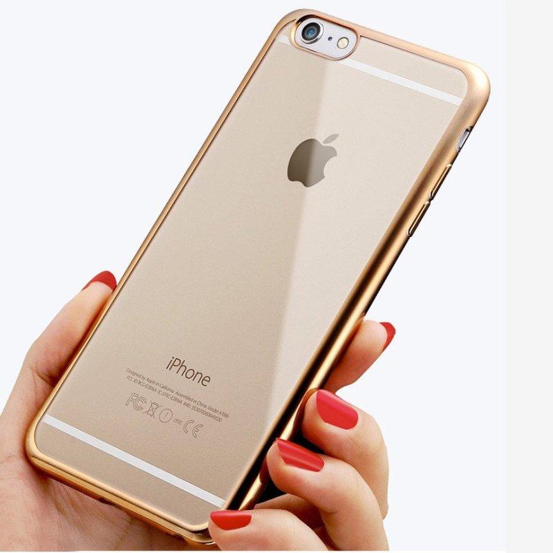 臻曦iphone手机壳 苹果手机套 电镀边框壳苹果保护套