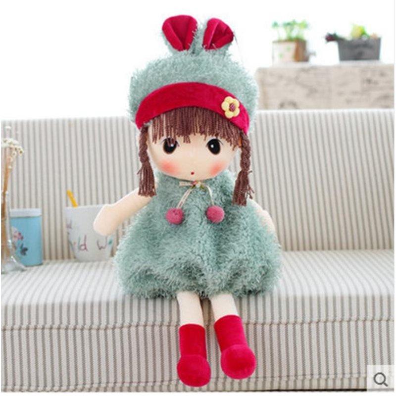 菲儿公仔可爱女孩布娃娃布偶毛绒玩具洋娃娃玩偶儿童生日礼物女生
